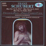 Schubert: Mass No. 2 in G major; Mass No. 4 in C major; Mass No. 3 in B flat
