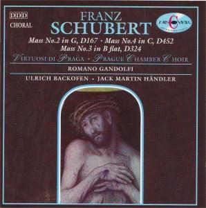 Schubert: Mass No. 2 in G major; Mass No. 4 in C major; Mass No. 3 in B flat