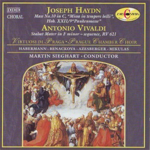 "Haydn: Mass No. 10 in C ""Missa in tempore belli""; Vivaldi: Stabat mater in F minor"