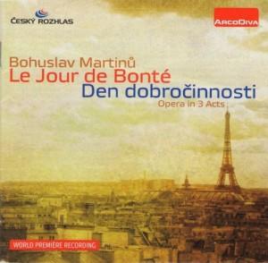 Martinů: Le Jour de Bonté, H 194