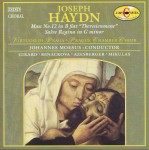 Haydn: Mass No. 12 in B flat Theresienmesse; Salve regina in G minor