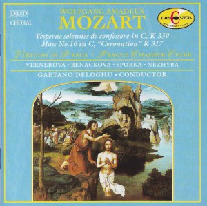 "Mozart: Mass No. 16 in C ""Coronation""; Vesperae solennes de confessore in C"